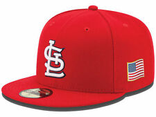 Official 2015 MLB 9-11 St Louis Cardinals New Era 59FIFTY Fitted Hat