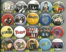 80's Eighties New Wave / Pop Pins Buttons or Magnets Pick Your Own Set