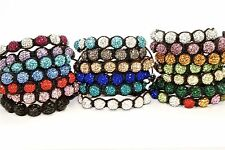Unisex Shamballa Bead Bracelet - 20 Different Colors!