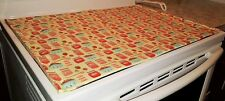 Strawberries & Jam Themed Glass Stove top / Cook top Cover & Protector