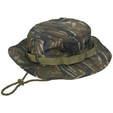 Military Vietnam Army Combat GI Boonie Jungle Bush Hat Tiger Stripe Camo S-XXL