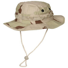 US Military GI Boonie Ripstop Army Jungle Bush Sun Hat 3-Colour Desert Camo S-XL