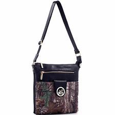 Realtree Girl Multi-compartment Crossbody Messenger Bag
