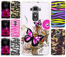 For LG G Flex 2 Rubberized HARD Protector Case Snap On Phone Cover +Screen Guard
