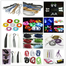 Reflective Round Rope / LED Flash / Elastic X-Tie Sport Boot Shoe Lace Shoelaces
