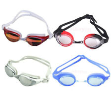 Adult's Anti-fog UV Protection Adjustable Swimming Goggles Swim Glasses Unisex