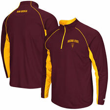 Arizona State Sun Devils Colosseum Lineman 1/4 Zip Jacket - Maroon