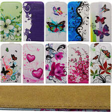 Pouch for Samsung Galaxy Flip Case Cover Case Cover Bag Flower