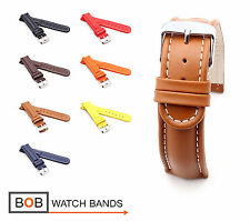 BOB Retro Calf Watch Band/Strap for Breitling, 18, 20, 22, 24 mm, 7 colors, new!
