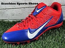 Nike Alpha Pro TD Low Molded Football Cleats Size 12.5 Red/White/Blue