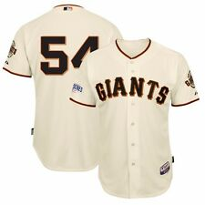 Sergio Romo 2014 SF Giants Authentic World Series Ivory Home Cool Base Jersey