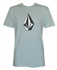 VOLCOM New Mens T Shirt Short Sleeve Tee Top Slim Fit Green Size (S) Small