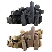 Tactical Drop Leg Thigh Right-hand Holster With 2 Pouches Glock 17 19 22 23 31