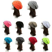 Men Lady Girl Unisex Autumn Knit Hat Cap Hip-hop Ski Beanie Slouchy HOT Hat 55P4