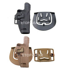 Tactical Military Right Hand Waist Paddle Belt Holster for Beretta M9 M92