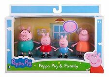 Peppa Pig Family Plastic Figures Ideal for Xmas - George,Peppa, Mummy, Daddy!