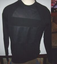 New LRG Lifted Research Group solid black sweatshirt  pull over medium large XL