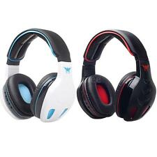 Wireless Bluetooth Stereo Headphone Headset Bass Mic For iPhone Samsung PC 6KT4