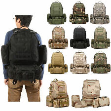 New 50L Tactical Outdoor Molle Assault Military Rucksacks Backpack Camping bag