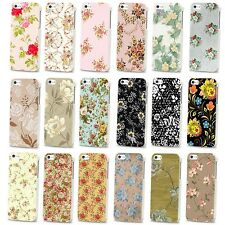 NEW PRETTY FLOWER FLORAL VINTAGE CUTE HARD CASE COVER FOR APPLE IPHONE 4 4S 5 5S