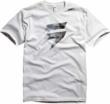SHIFT RACING MENS FILL TEE T-SHIRT motocross freestyle mx bmx mtb new WHITE