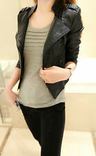 NEW! fashion Korean version Women's Clothing leather jacket Brief paragraph suit