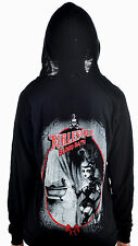 TOO FAST BLOODBATH SKULL TATTOO GOTHIC PUNK BURLESQUE HOODIE JACKET GOTH SHIRT