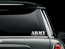 Combat Veteran Army Vinyl Car Truck Window Decal Sticker US Seller USA