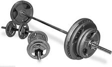 TNP Tri-Grip Cast Iron Olympic Barbell Weight Disc & Barbell Set-from 50kg-104kg