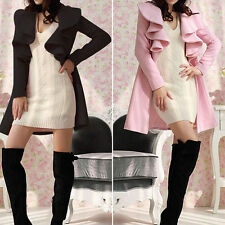 Fashion Womens Warm Long Coat Jacket Trench Windbreaker Parka Outwear Overcoat