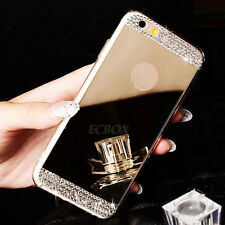 Luxury Ultra-thin Mirror Transparent TPU Case Cover For iPhone 5 5S SE 6 6S Plus