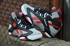 REEBOK SHAQ ATTAQ BRICK CITY TIN GREY RED BLACK WHITE M40173