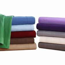 QUEEN Flannel Sheets 5 oz Deep Pocket Ultra Soft Sheet Set 100% Cotton