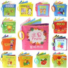 Kids Baby Educational Development Intelligence Soft Cloth Cognize Learn Book Toy