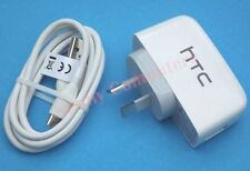 Original HTC One M9 M8 M8s Mini 2 Desire 820 Eye 320 USB Wall Charger and Cable