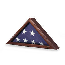 Capitol Flag Case - Great Wood Flag Case Hand Made By Veterans