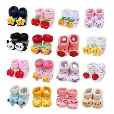 Stylish Anti Slip Baby Toddler Crib Shoes Indoor Warm Animal Cartoon Socks Boots