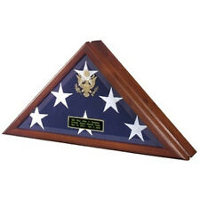 Flag Display Case With Front Openning Hand Made By Veterans