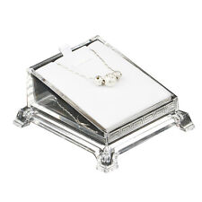 Chic Clear Acrylic Glass Jewelry Display Stand Holder Rack Shop Retail Showcase