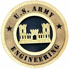 U.S. Army Engineering Wall Tribute, U.S. Army Engineering Hand Made Gift
