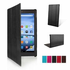 """Ultra Slim Leather Smart Case Cover for Amazon Kindle New Fire HD 7"""" 8"""" 10"""" 2015"""
