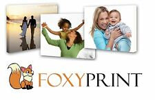 YOUR PERSONALISED PHOTO ON CANVAS PRINT PICTURE - READY TO HANG A4 A3 A2 A1 A0