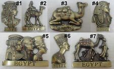 Metal Egypt Souvenir Queen Pharaoh 3D Refrigerator Fridge Magnet Pharaohs