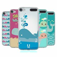HEAD CASE DESIGNS KAWAII WHALE SOFT GEL CASE FOR APPLE iPOD TOUCH MP3