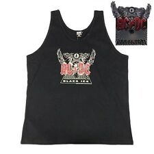 Men's Cotton Licensed AC/DC Black Ice Tour Singlet/Tank Size: 2XL Only BNWT