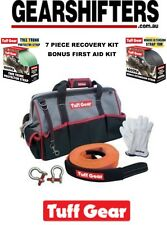T-MAX 4X4 4WD TUFF GEAR OFF ROAD ACCESSORIES PREMIUM 7 PIECE RECOVERY KIT BONUS