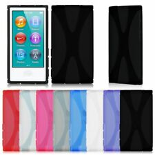 X Line Slim Soft TPU Rubber Gel Case Cover Skin for iPod Nano 7 7th Generation
