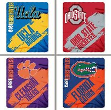 "Choose NCAA Team 50 x 60"" Paint Series Light Weight Fleece Blanket by Northwest"