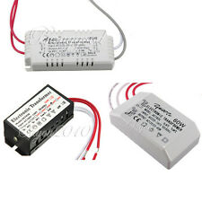110/220V 12V Halogen LED Lamp Electronic Power Supply Transformer Driver Adapter