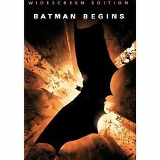 Batman Begins (DVD, 2005, Widescreen)  EUC